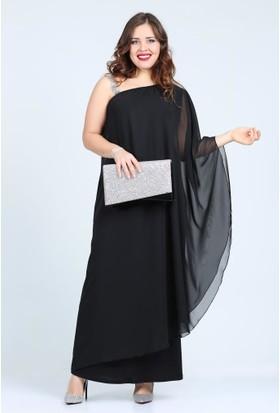 Kl6060U Siyah Abiye Elbise