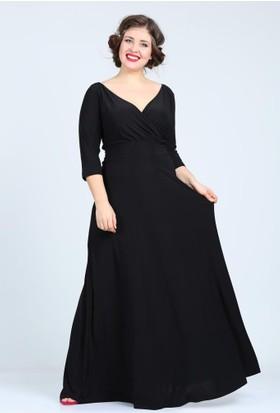 Kl59 Siyah Abiye Elbise
