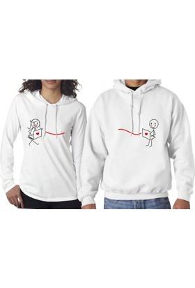 Hediye Mucidi İnternet Aşıkları Sevgili Sweatshirt