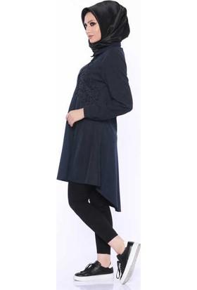 Zemin Giyim İncili Tunik-T1016