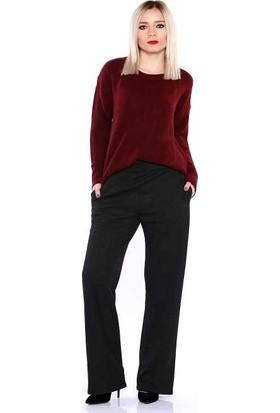Zemin Giyim Cepli Örme Pantolon-3310
