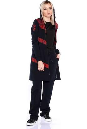 Zemin Giyim Likralı Kadın Eşofman Takımı-95115
