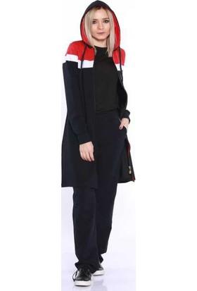 Zemin Giyim Likralı Kadın Eşofman Takımı-95020