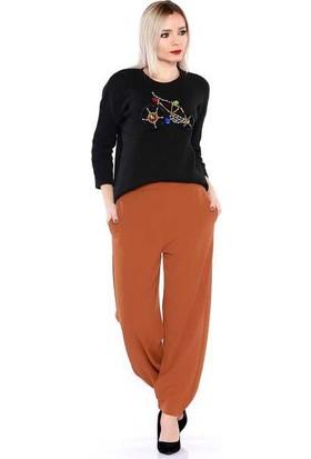 Zemin Giyim Crep Pantolon-789