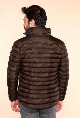 Zemin Giyim Kamuflaj Mont-2105