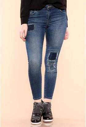Zemin Giyim Elana Kadın Kot Pantolon-813