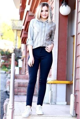 Zemin Giyim Çift Berce Kadın Pantolon-0239