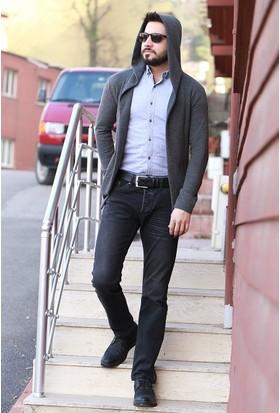 Zemin Giyim Erkek Pıtırcık Hırka-4066