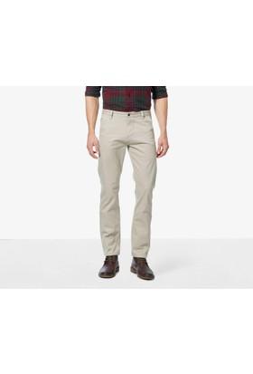 Dockers Erkek Pantolon 44715-0431 Alpha Stretch Khaki, Slim Tapered