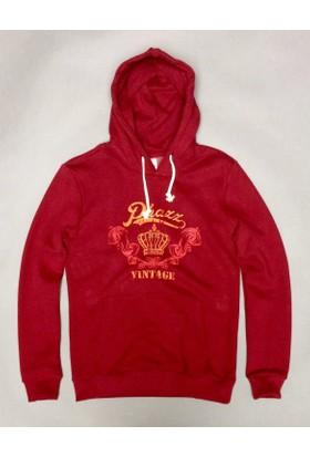 Phazz Brand Erkek Kapişonlu Sweatshirt 5593