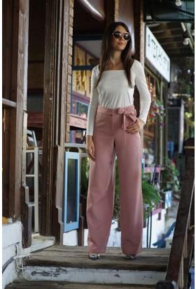 Stil Town Kuşaklı Pantolon