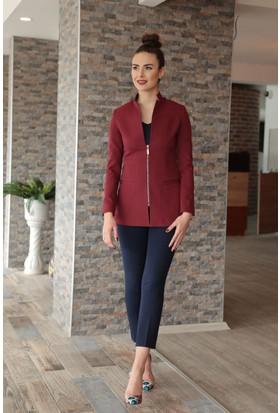 Stil Town Fermuarlı Ceket