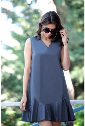 Stil Town Mini Fır Fır Elbise