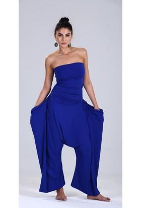 Zeynep Deniz Anka Tulum 22 Farklı Şekilde Giyilen Şalvar Tulum - Pantolon