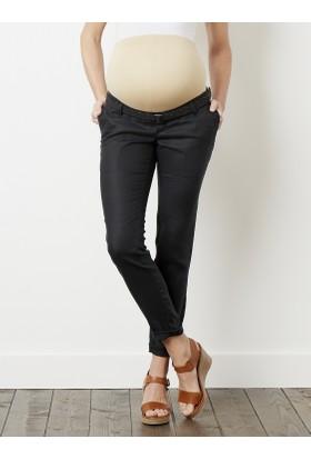 Colline Hamile Siyah Keten Pantolon