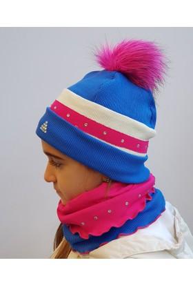 Babygiz Şapka Boyunluk Takım Nsb041