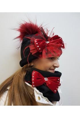 Babygiz Şapka Boyunluk Takım Nsb047