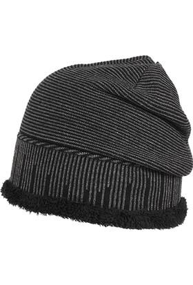Suyutti Erkek Kürklü Bere Kışlık Siyah 7742