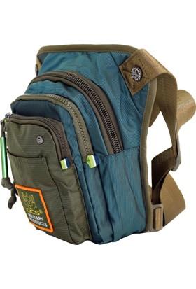 Ççs 30992-Y Yeşil Bacak Bel Çantası Body Bag