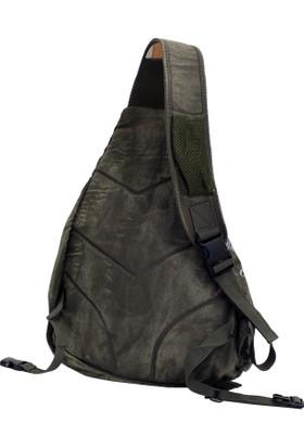 Ççs 50794-Y Orjinal Yeşil Sırt Askılı Çanta