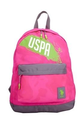 U.S. Polo Assn. Okul Sırt Çantası Pembe 6360