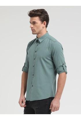 Loft Uzun Kollu Erkek Keten Gömlek 2010395