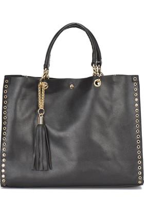 Butigo Pr18Ss008 Siyah Kadın Kol Çantası