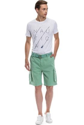 Nautica Giyim Yeşil Kargo Şort B71012T.3FN