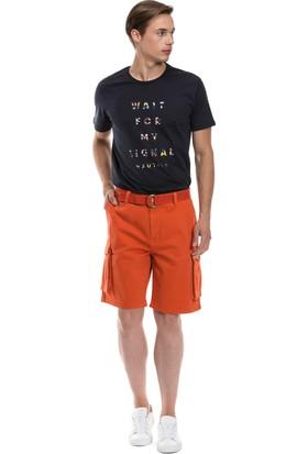 Nautica Giyim Turuncu Kargo Şort B71012T.8SP