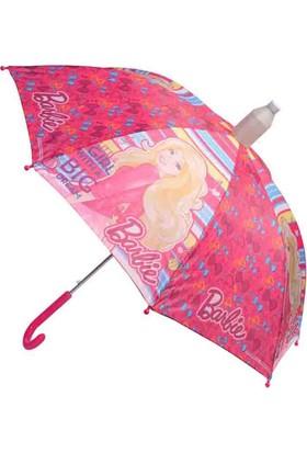 Barbie 64505 Pembe Kız Çocuk Şemsiye