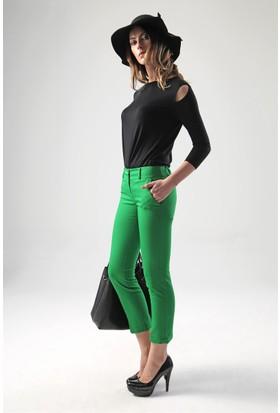 Jument 2051 Yeşil Kadın Pantolon