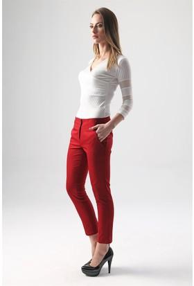 Jument 2199 Bordo Kadın Pantolon
