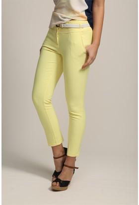 Jument 2282 Sarı Kadın Pantolon