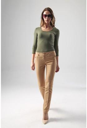 Jument 2323 Camel Kadın Pantolon