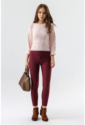 Jument 2399 Bordo Kadın Pantolon