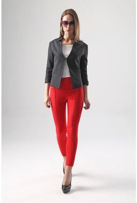Jument 2399 Kırmızı Kadın Pantolon