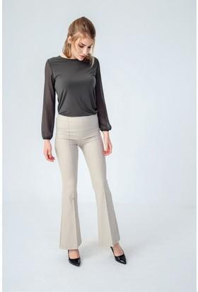 Jument 2412 Bej Kadın Pantolon