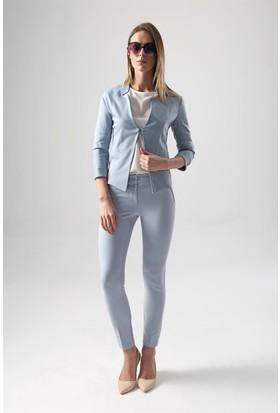 Jument 2414 Mavi Kadın Ceket
