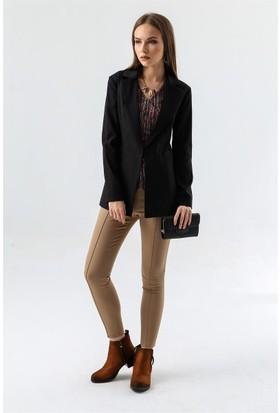 Jument 2435 Siyah Kadın Ceket