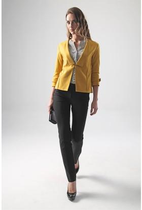 Jument 2467 Hardal Kadın Ceket