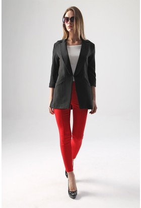 Jument 2468 Siyah Kadın Ceket