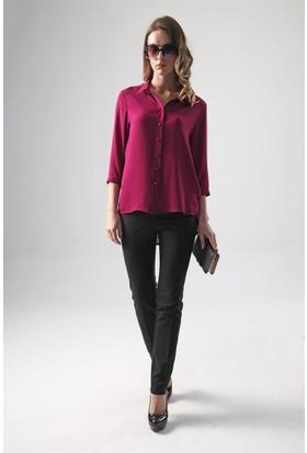 Jument 3891 Açık Magenta Kadın Gömlek