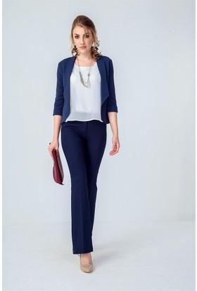 Jument 3897 Lacivert Kadın Ceket
