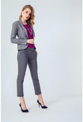 Jument 3995 Gri Kadın Ceket