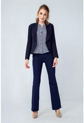Jument 3995 Lacivert Kadın Ceket