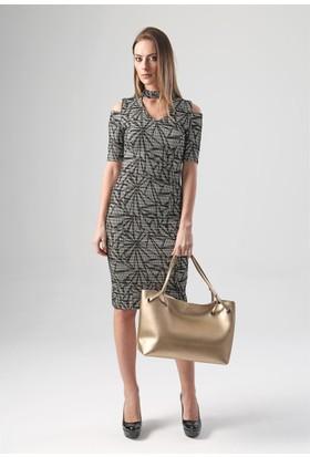 Jument 4062 Gold Kadın Elbise