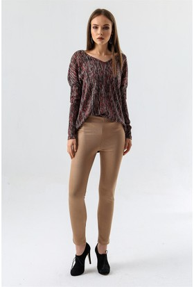 Jument 4070 Bej Tayt Kadın Pantolon