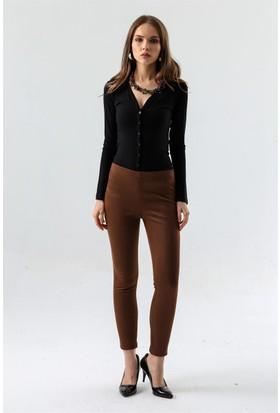 Jument 4070 Taba Kadın Tayt Pantolon