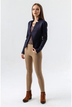 Jument 4071 Lacivert Kadın Ceket