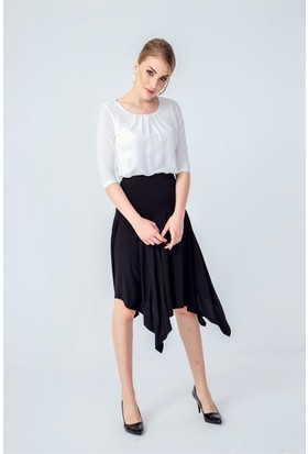 Jument 5896 Krem Rengi Kadın Bluz